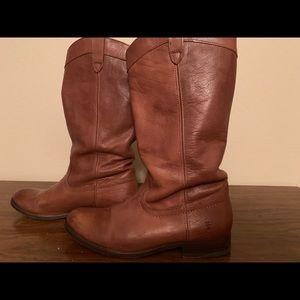 Lucky Brand & Fyre Boots